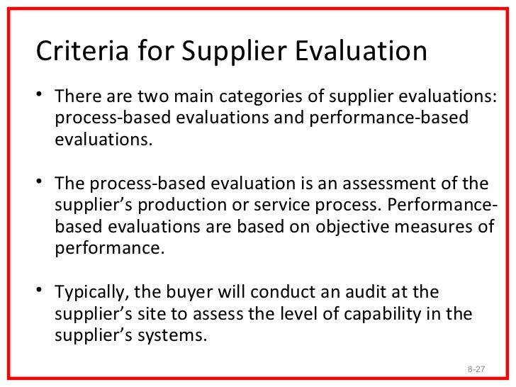 Vendor Assessment Template Vosvetenet – Sample Vendor Evaluation