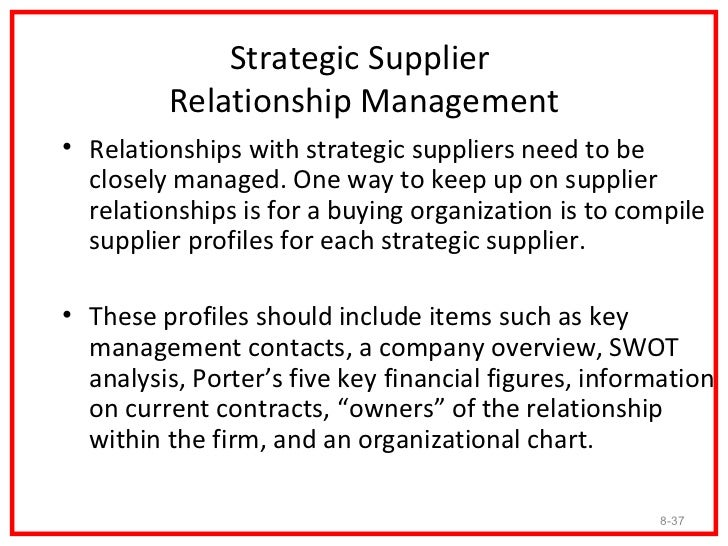 The Strategic Supplier Performance          Review Process • A performance review is a set of expectations and   measureme...