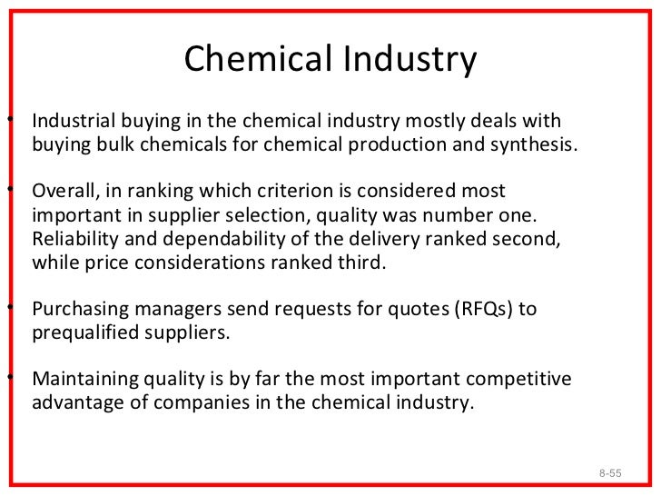 Electronics Industry• Industrial buying within the electronics industry is extremely  competitive.• Some companies place h...