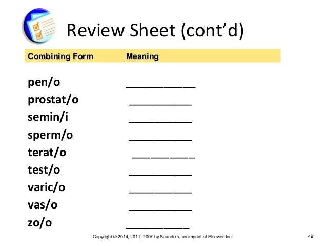 Chapter 9 Medical Terminology