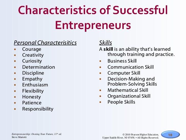 <ul><li>Personal Characterisitics </li></ul><ul><li>Courage </li></ul><ul><li>Creativity </li></ul><ul><li>Curiosity </li>...