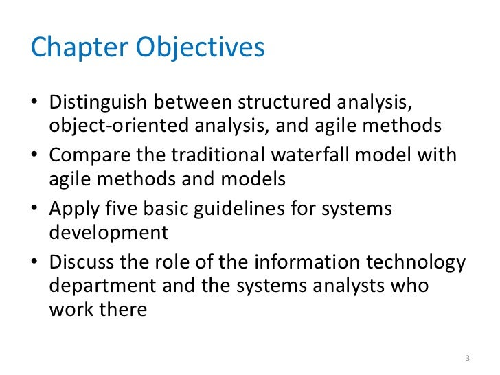 Introduction To Systems Analysis And Design Chapter 01