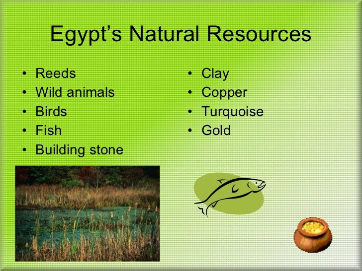 Egypt Lessons Tes Teach - Natural resources in egypt