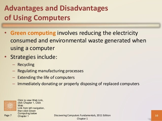 Disadvantages of computer literacy