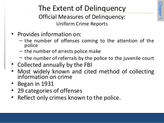 uniform crime reports part 1 offenses The uniform crime reporting program divides offenses into two major classifications which are designated part 1 and part 2 law enforcement agencies report the number of offenses and associated crime data for the following part 1 crimes: murder and non-negligent manslaughter, forcible rape, robbery, aggravated assault, burglary, larceny, motor.