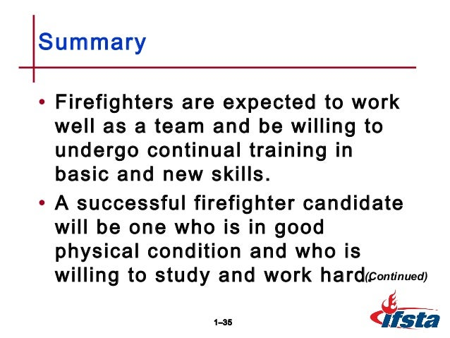 Fire and Emergency Services as a Career