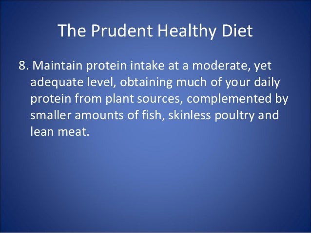 Prudent diet and the risk of insulin resistance.