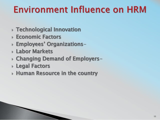 changing environment of hrm Work in the 21 st century: the changing role of human resources karen e may terranova consulting group  there are an incredible number of pressures on today's organizations to name a few: environmental pressures such as increasing globalization, rapid technological change, and tougher competition organizational changes such as new organizational alliances, new structures and hierarchies.