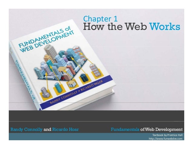 Chapter 1  How the Web Works  Randy Connolly and Ricardo Hoar Randy Connolly and Ricardo Hoar  Fundamentals of Web Develop...