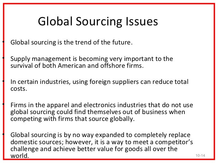 ikeas global sourcing challenge Read this free business term paper and other term papers, research papers and book reports ikea's global sourcing challenge: indian rugs and child labor ikea's global sourcing challenge: indian rugs and child labor (a) marianne barner response to the invitation the german video program.