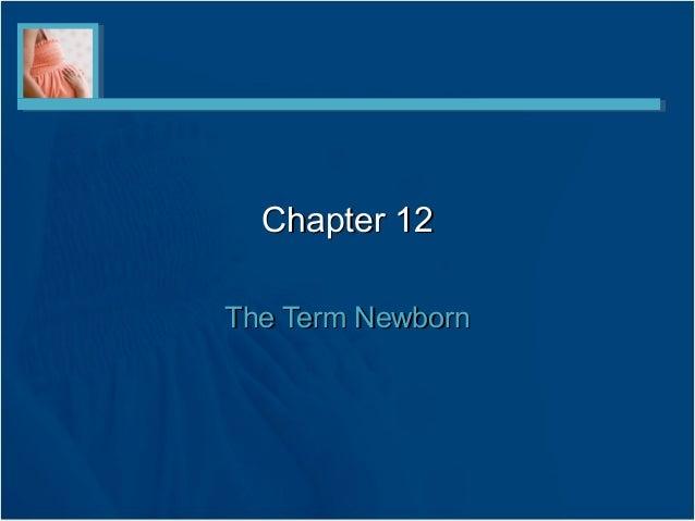 Chapter 12The Term Newborn