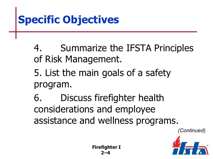 Chapter 02 Firefighter Safety And Health