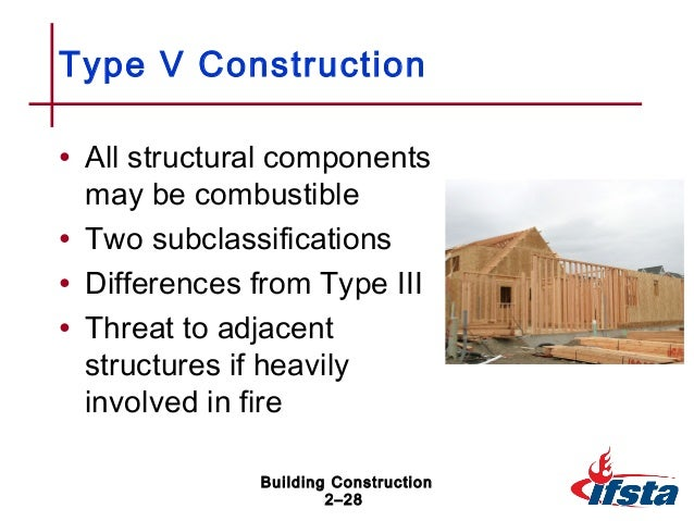 Bldg construction chapter 02 for Building construction types for insurance