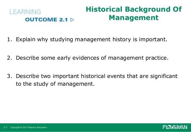 history of management This brief history of project management charts all the major developments and events in the discipline as far back as there are records.