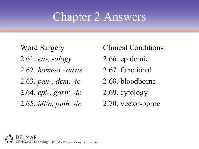 degenerative word surgery