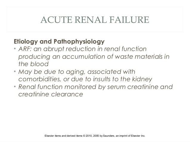 Acute renal failure pdf 2010