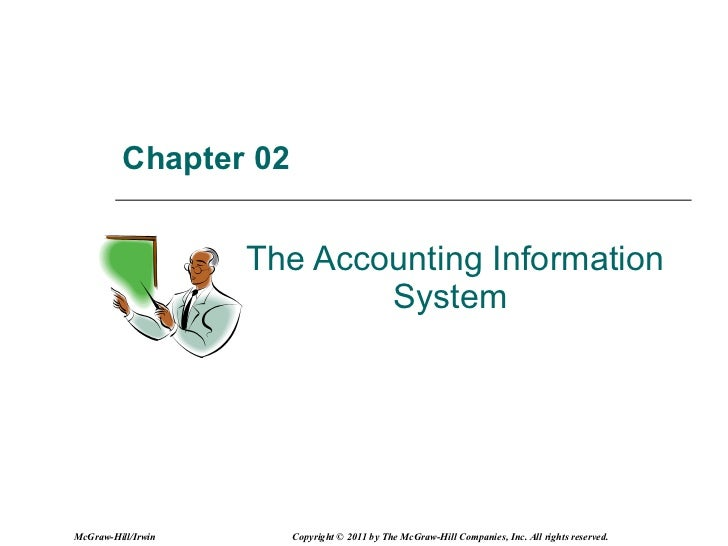 Chapter 02   The Accounting Information System  McGraw-Hill/Irwin Copyright © 2011 by The McGraw-Hill Companies, Inc. All ...
