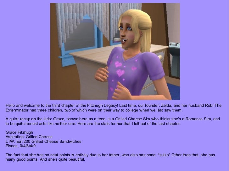 Hello and welcome to the third chapter of the Fitzhugh Legacy! Last time, our founder, Zelda, and her husband Robi The Ext...