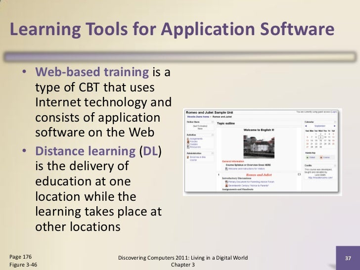 features of web based application