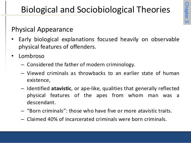 the father of modern criminology Cesare lombroso - the father of criminology psychology 6 november 2016 1 harald sack as a result of his research lombroso became known as the father of modern criminology one of the first to realise that crime and criminals could be studied scientifically.