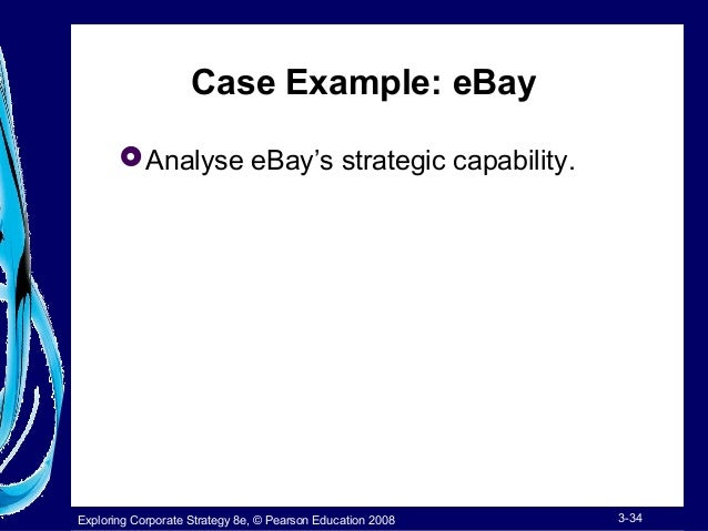 analysis on ebay s strategic capabilities Financial planning & analysis the next frontier of business  diligently to develop capabilities and tools to make  focus predominantly on the cfo's agenda.