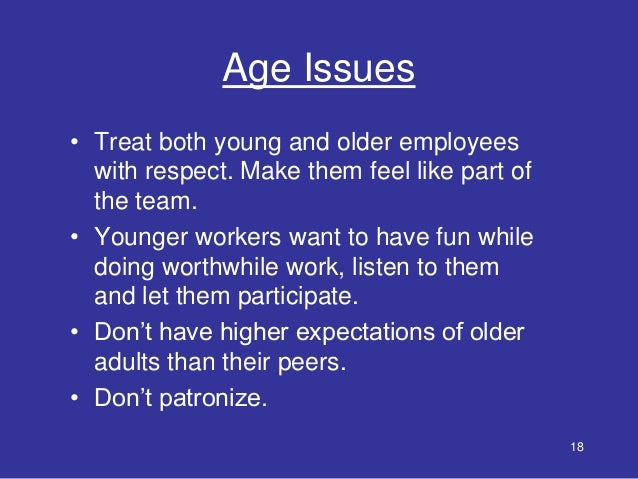Getting the Benefits of Age Diversity in the Workplace