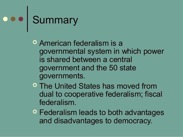 federalism summary