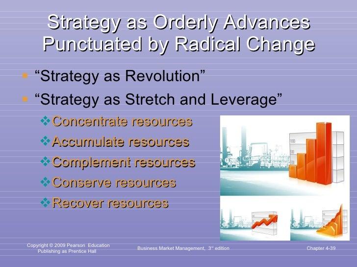 "Strategy as Orderly Advances Punctuated by Radical Change <ul><li>"" Strategy as Revolution"" </li></ul><ul><li>"" Strategy a..."