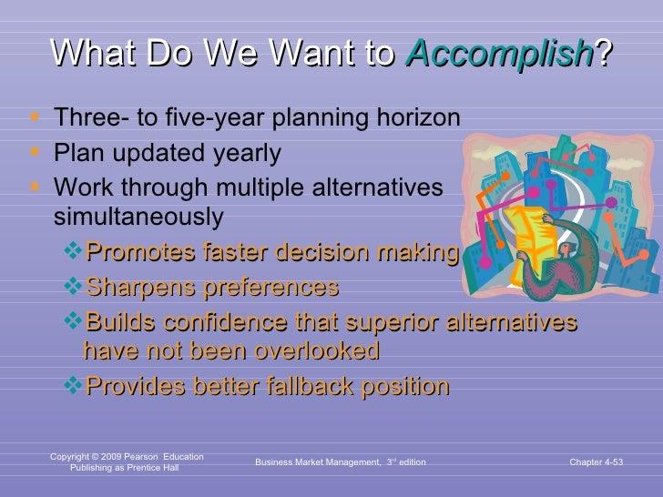 What Do We Want to  Accomplish ? <ul><li>Three- to five-year planning horizon </li></ul><ul><li>Plan updated yearly </li><...