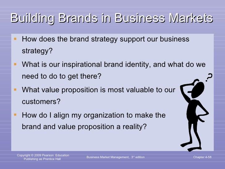 Building Brands in Business Markets <ul><li>How does the brand strategy support our business strategy? </li></ul><ul><li>W...