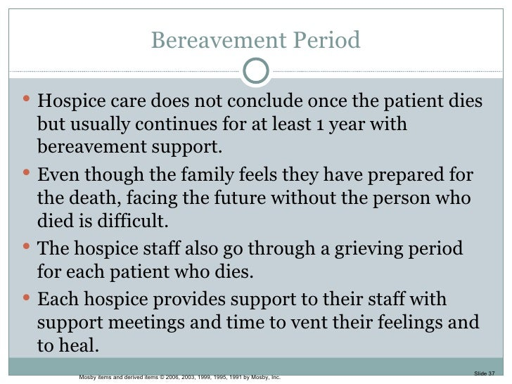 Essays on hospice care