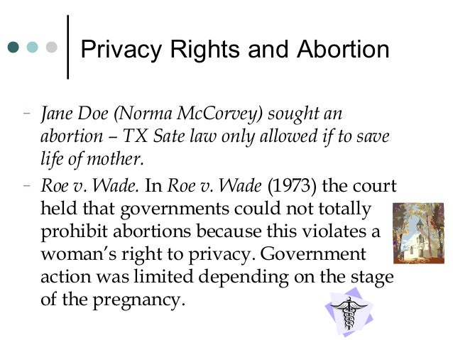 Beyond Abortion: Roe and Other Rights