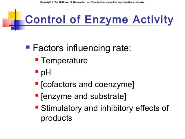effects of temperature and cofactors on Lactase is a digestive enzyme that catalyzes the break down of lactose, a sugar found in milk lactase functions best within limited ranges of both temperature and ph in its given environment, making it dependent on both factors for it.