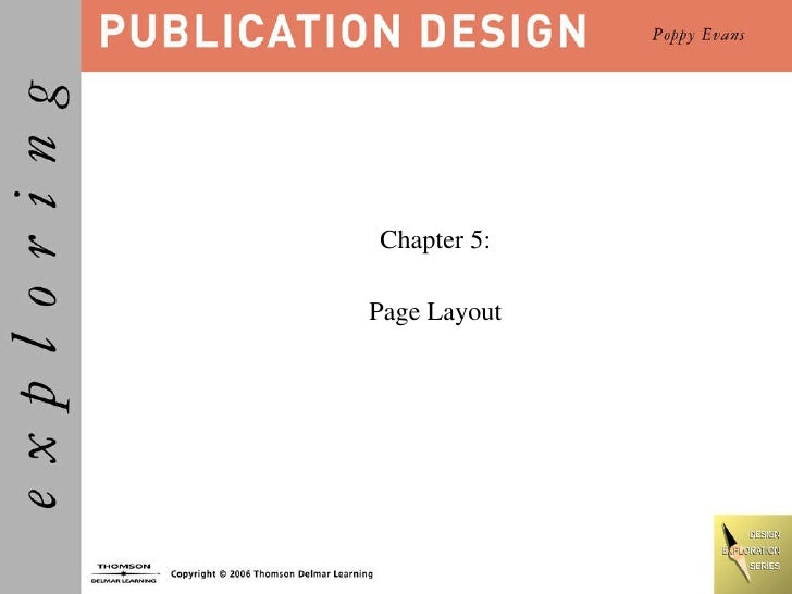Chapter 5: Page Layout