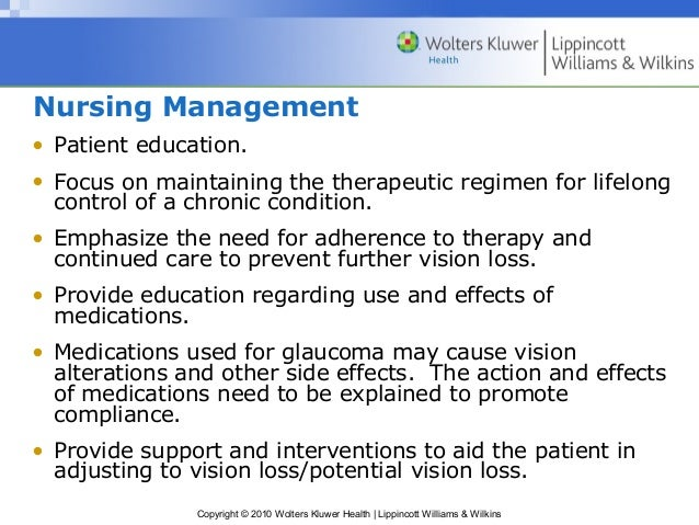 Assessment And Management Of Patient With Eye And Vision