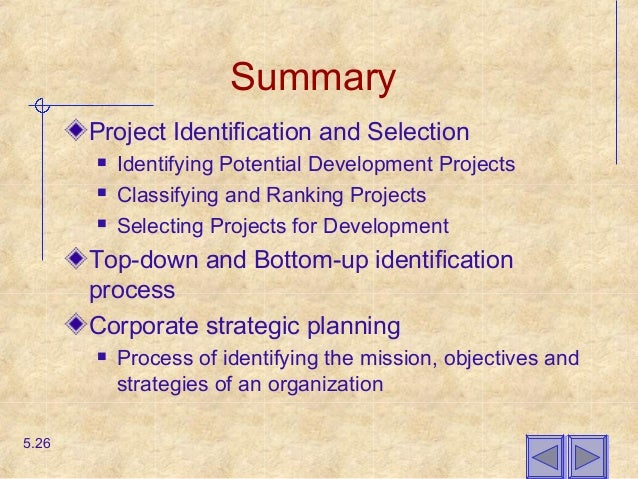 identifying and selecting projects Note: the projects of the master's or doctoral students must indicate the   explain how, when, where and who will identify/select potential participants.