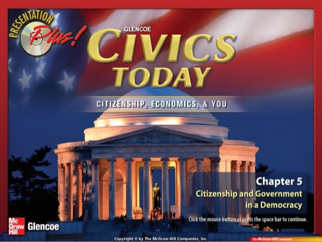 Chapter IntroductionSection 1: Duties and           ResponsibilitiesSection 2: Citizens and the           CommunityVisual ...