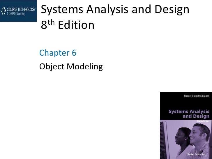 Systems Analysis and Design8th EditionChapter 6Object Modeling