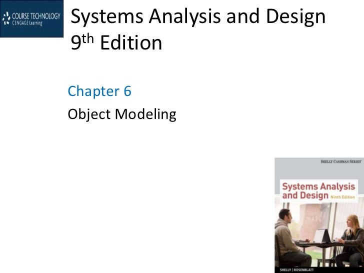 Systems Analysis and Design9th EditionChapter 6Object Modeling