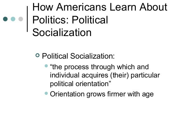 political socialization essays Political socialization essays: over 180,000 political socialization essays, political socialization term papers, political socialization research paper, book reports.