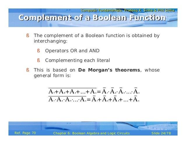 boolean algebra and minimization of boolean functions pdf