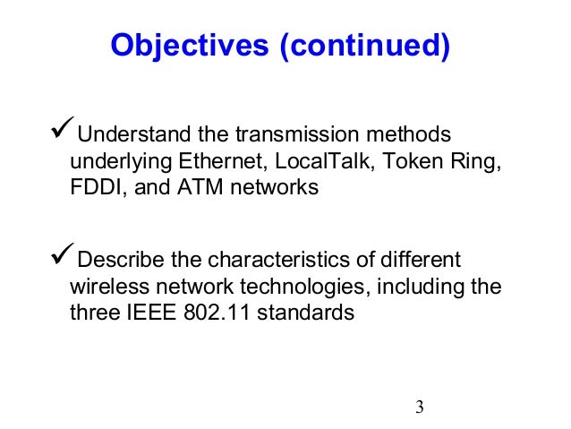Different Methods Used For Token Ring Network