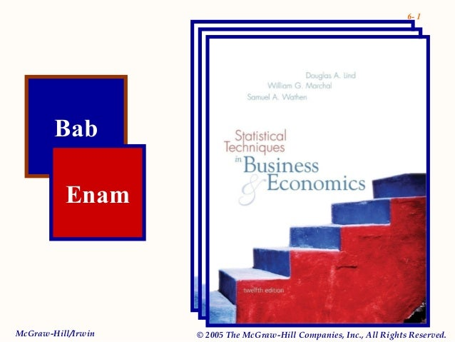 6- 1 Bab Enam McGraw-Hill/Irwin © 2005 The McGraw-Hill Companies, Inc., All Rights Reserved.