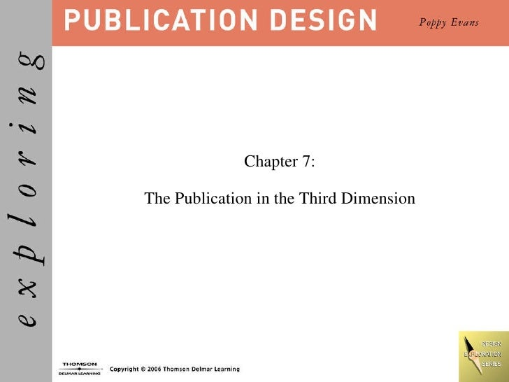 Chapter 7: The Publication in the Third Dimension
