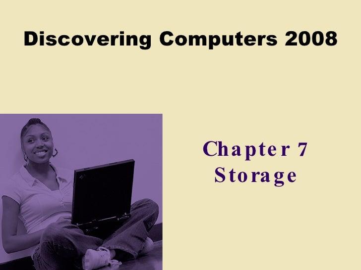 Chapter 7 Storage