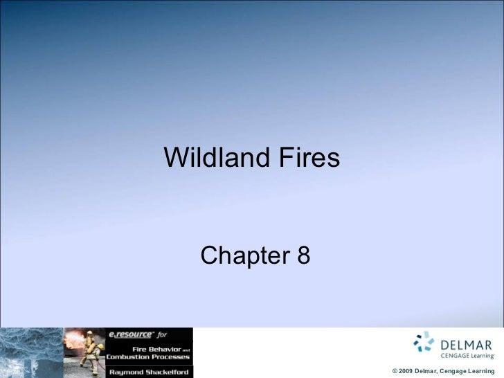 Wildland Fires   Chapter 8