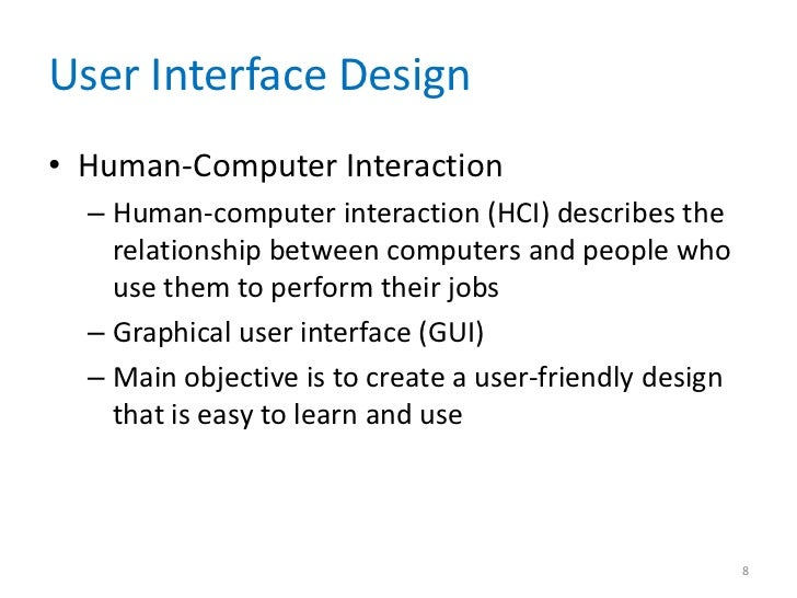 human computer interaction 2 essay 1 introduction research in human-computer interaction (hci) has been spectacularly successful, and has fundamentally changed computing just one example is the ubiquitous graphical interface used by microsoft windows 95, which is based on the macintosh, which is based on work at xerox parc, which in turn is based on early research at the.