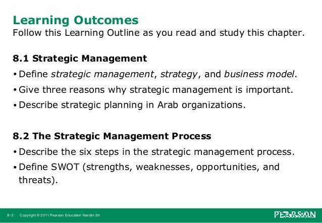 strategic management chap 3 Chapter 2 corporate governance 42 chapter 3 social responsibility and ethics in strategic management 70 part two scanning the environment 93 chapter 4 environmental scanning and industry analysis 94 chapter 5 internal scanning: organizational analysis 136 part three strategy formulation.