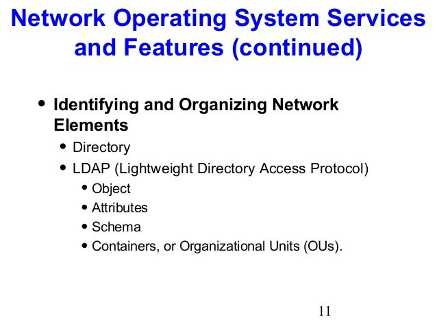 choosing a network operating system It is now common for systems to be located at the site of the application for data  processing, process control, word processing, email, database management,.