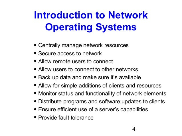 Chapter08 Network Operating Systems And Windows Server 2003 Based